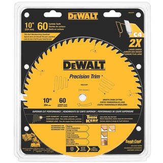 "DeWalt DW3215PT 10"" 60 Teeth Trim Saw Blade"