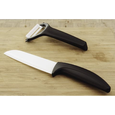 Ceramic Knife and Peeler Set