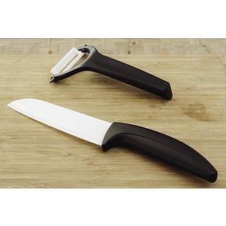 Ceramic Knife and Peeler Set