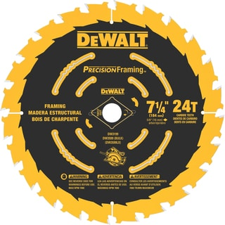 "DeWalt DW3194 7.25"" 40 Tooth Saw Blade"