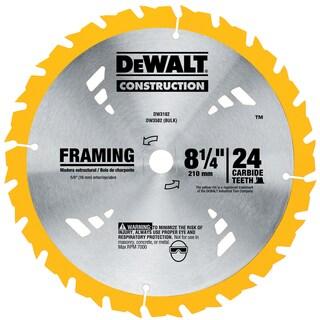"""Dewalt DW3182 8-1/4"""" Framing Circular Saw Blade"""
