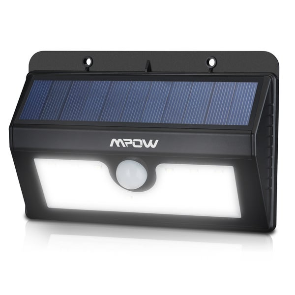 outdoor waterproof solar lights with 20 led light source set of 2. Black Bedroom Furniture Sets. Home Design Ideas