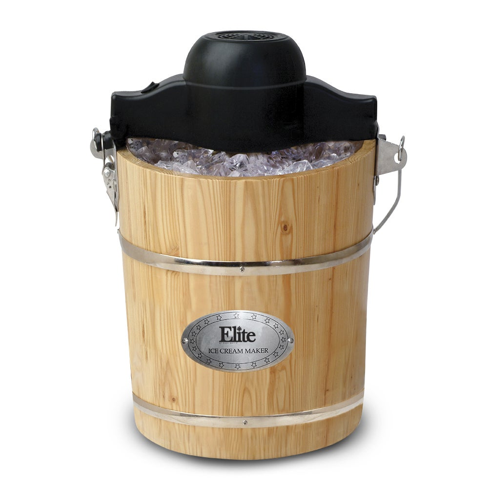Maxi-Matic Elite Gourmet 6-Quart Old-Fashioned Pine-Bucke...