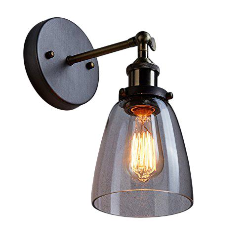 Vintage industrial edison glass simplicity wall sconce wall lamp light