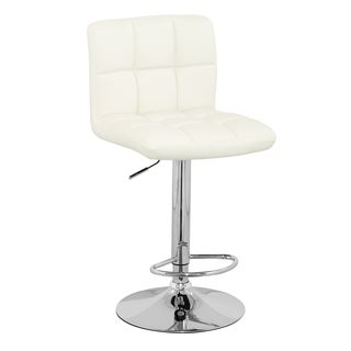 Meki White Barstool (Set of 2)