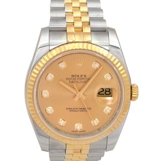 Pre-owned Men's Rolex Datejust Watch