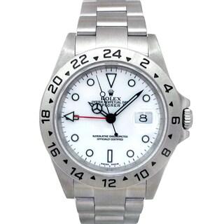 Pre-owned Rolex Men's Stainless Steel Explorer II Watch
