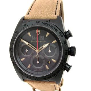 Pre-owned Tudor Fastrider Black Shield Men's Watch