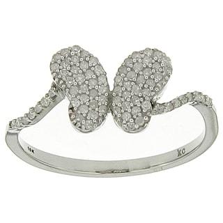 10k White Gold 1/4ct TDW Diamond Ring
