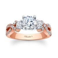 Barkev's Designer 14k Two-tone Gold 1 2/5ct TDW Diamond Engagement Ring