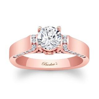 Barkev's Designer 14k Rose Gold 1 1/3ct TDW Diamond Engagement Ring (More options available)
