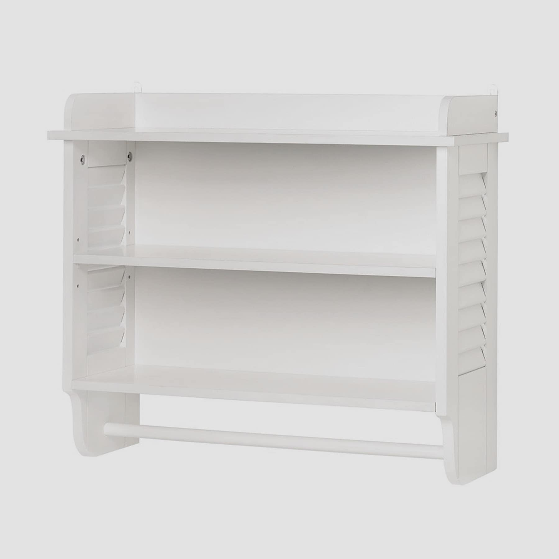 Olympia Wall Mounted Wooden Shelving White