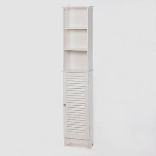 Olympia White Wood Cabinet