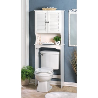 Olympia White Bathroom Storage Cabinet