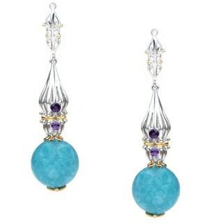 Michael Valitutti Aquamarine Earrings