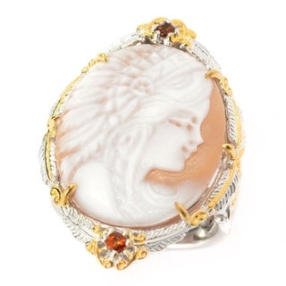 Michael Valitutti Warrior Cameo Ring