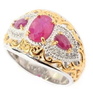 Michael Valitutti Ruby Ring
