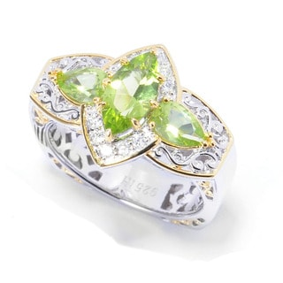 Michael Valitutti Arizona Peridot Ring