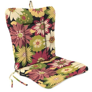Jordan Manufacturing Spun Polyester Orlato Blackberry Euro Style Chair Cushion