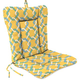 Jordan Manufacturing Spun Polyester Cape Cod Summer Euro Style Chair Cushion