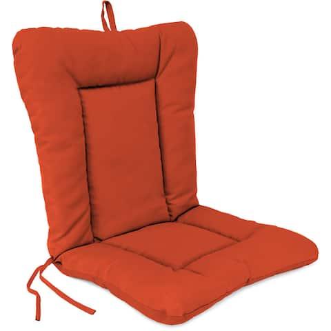 Jordan Manufacturing Euro Style Chair Cushion in Spectrum Grenadine