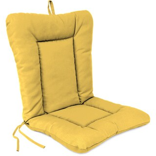 Jordan Manufacturing Euro Style Chair Cushion in Spectrum Daffodil