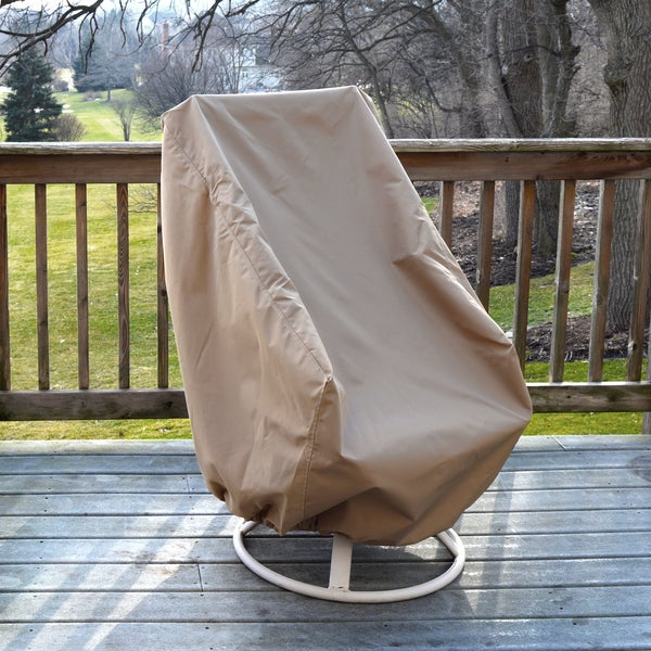 All Weather Protective Cover For High Back Chair Free