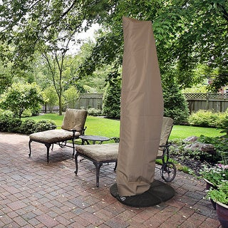 All-Weather Protective Umbrella Cover Fits 10-ft to 13-ft Cantilever Umbrellas