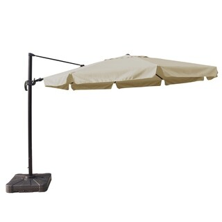 Victoria 13-ft Octagon Cantilever Umbrella with Valance in Sunbrella Acrylic