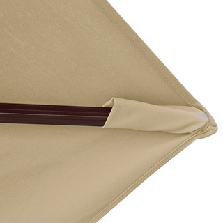 Victoria 13-ft Octagon Cantilever with Valance in Sunbrella Acrylic
