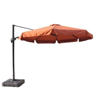 Abba Patio 11 Foot Octagon Cantilever Vented Tilt And