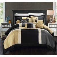 Clay Alder Home Fruita Black/ Tan 11-piece Comforter Set