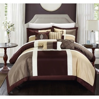 Chic Home Filomena Brown 7-piece Comforter Set