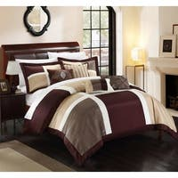 Copper Grove Minesing Brown 11-piece Comforter Set