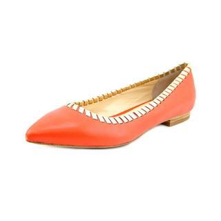 Carmen Marc Valvo Women's 'Simone' Leather Casual Shoes