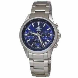 Casio Men's EFR527D-2A Edifice Blue Watch|https://ak1.ostkcdn.com/images/products/11582608/P18523542.jpg?impolicy=medium