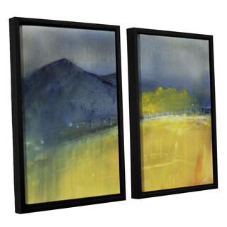 Amber Berninger's 'Telluride Fall Rain' 2 Piece Floater Framed Canvas Set