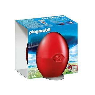 Playmobil Soccer Player with Goal Building Kit