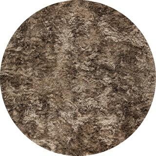 Hand-woven Indo Dubai Tiramisu Rug (6'6 Round)
