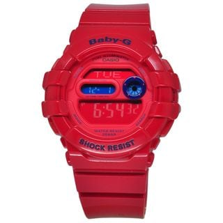 Casio Women's BGD140-4 Baby-G Red Watch