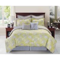 Palmetto Tropical Reversible Comforter Set
