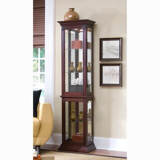 Awesome Light Wood Curio Cabinets