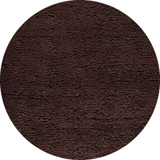 M.A. Trading Hand-woven Indo Berber Brown Rug (8'3 Round)