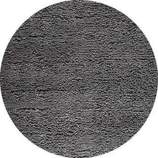 M.A. Trading Hand-woven Indo Berber Dark Grey Rug (8'3 Round)