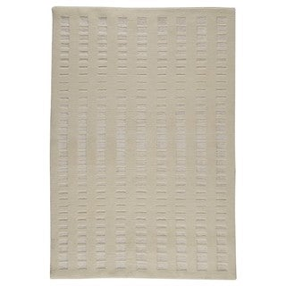 M.A. Trading Hand-knotted Indo Merano White Rug (8'3 x 11'6)