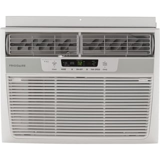 Frigidaire FFRE1233Q1 12,000 BTU 115V Window-Mounted Compact Air Conditioner with Temperature Sensing Remote Control