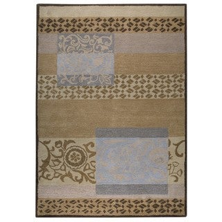 M.A.Trading Hand-Tufted Indo Firenze Grey Rug (8'x10')