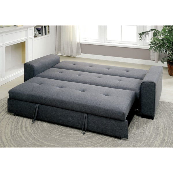 expandable furniture.  expandable furniture of america markes convertible grey expandable futon sofa  free  shipping today overstockcom 18523863 for