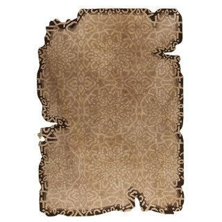 M.A.Trading Hand-Tufted Indo Jalwa 3 Light Beige Rug (5'2 x 7'6)