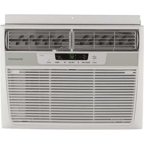 Frigidaire FFRA1022R1 10,000 BTU 115V Window-Mounted Compact Air Conditioner with Remote Control - White